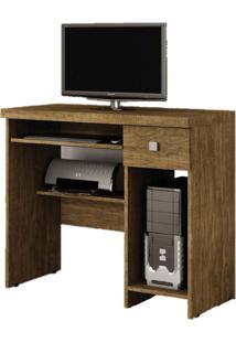 Escrivaninha/Mesa Para Computador System Valdemóveis -Ipê