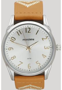 Relógio Analógico Mondaine Feminino - 99348L0Mvnh1 Prateado - Único
