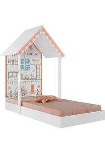 Mini Cama Montessoriana Home-Pura Magia - Branco