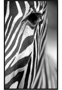 Quadro Decorativo Zebra- Preto & Branco- 50X70Cmarte Prã³Pria