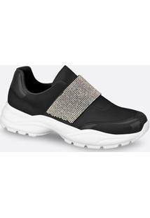 Tênis Feminino Chunky Sneaker Strass Vizzano