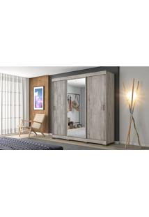 Guarda Roupa Nt 5020 1820Mm 3 Portas Des Notavel