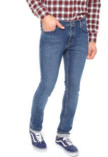 Calça Jeans Vans Skinny Vt6 Vintage Azul