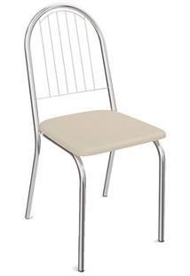 Cadeira Kappesberg Tubular Nude 2 Cadeiras