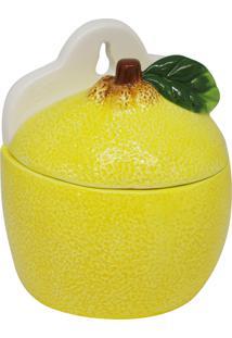 Saleiro De Cerâmica Skagen 14X11X15Cm - Linha Lemons
