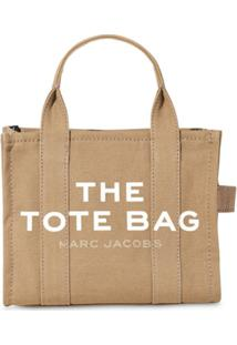 Marc Jacobs Bolsa Tote The Mini Traveler - Neutro