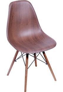 Cadeira Eames I Wood Escuro