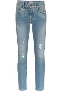 Givenchy Calça Jeans Skinny Com Stretch - Azul