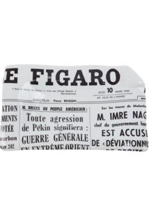Fornasetti Cinzeiro 'Le Figaro' De Porcelana - Branco
