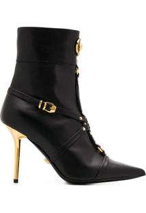 Versace Ankle Boot Medusa - Preto