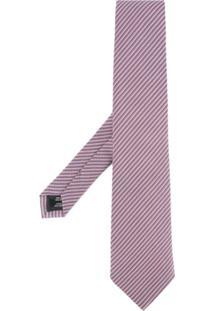 Gieves & Hawkes Gravata De Seda Bordada - Estampado