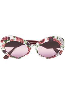 ... Dolce   Gabbana Eyewear Floral Blooms Print Sunglasses - Rosa 881a63a62c