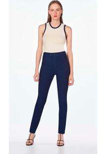Calca Leboh Jegging Cos Alto Basica Jeans Jeans