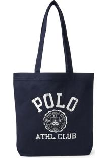 Bolsa Polo Ralph Lauren Athl Club Azul-Marinho