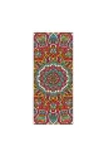 Adesivo Decorativo De Porta - Mandala - 293Cnpt Auto Colante