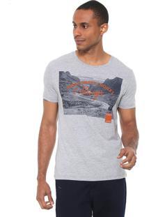 Camiseta Calvin Klein Jeans Smart Choices Cinza