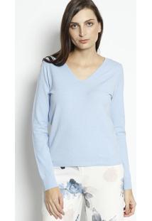 Blusa Lisa- Azul Claroenna