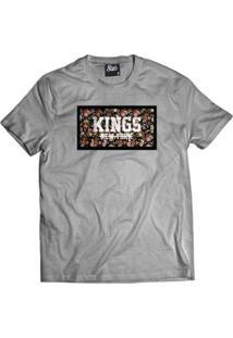 Camiseta Skull Clothing Kings New York Masculina - Masculino
