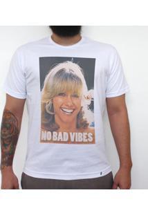 No Bad Vibes - Camiseta Clássica Masculina