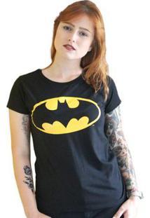 Camiseta Feminina Batman Logo Clássico - Feminino