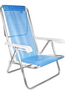 Cadeira De Praia Mor 2267 Reclinável 8 Posições - Unissex