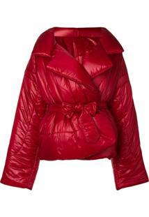 Norma Kamali Oversized Puffer Jacket - Vermelho