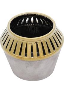 Vaso Decorativo De Cerâmica Gall M