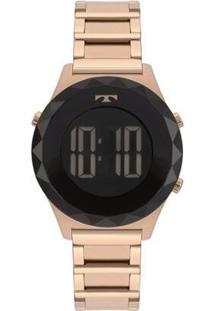 Relógio Technos Crystal Rosé Feminino - Feminino-Rose Gold