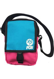 Bolsa Shoulder Bag Progress- Pgs Rosa E Azul