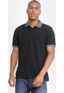 Camisa Polo Calvin Klein Logo Bordado Masculina - Masculino