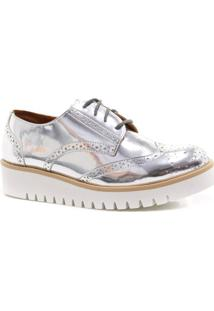 Sapato Oxford Zariff Shoes Metalizado