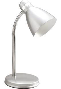 Luminária De Mesa Prince B Prata Startec & Co 110230004