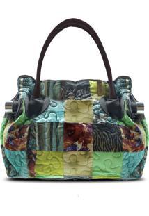 Bolsa Daneris Clover Em Patchwork Original - Multicolorido - Feminino - Dafiti