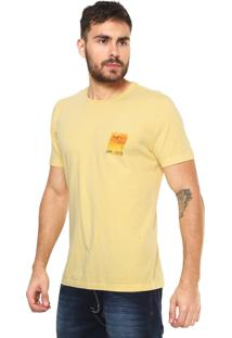 Camiseta Forum Estampada Amarela