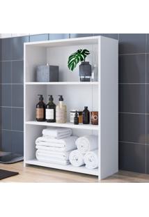 Armário De Banheiro 3 Prateleiras Mo030 Branco - Art In Móveis