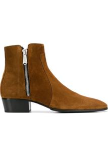Balmain Ankle Boot Mike - Marrom