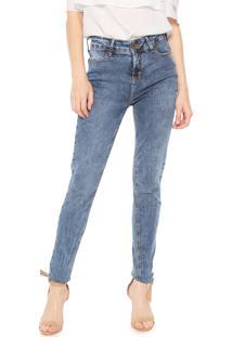 60c2adf23 ... Calça Jeans Dzarm Skinny Lisa Azul