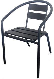 Cadeira Fun Em Aluminio Cor Chumbo - 44357 - Sun House