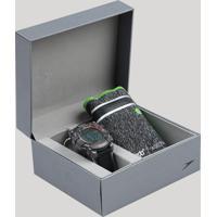 c1ab78e49dd Kit De Relógio Digital Speedo Masculino + Porta Objetos - 80639G0Evnp1K  Grafite - Único