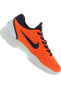 Tênis Nike Air Zoom Cage 3 Hc - Masculino - Laranja/Branco