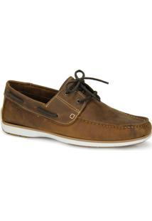 Sapato Dockside Masculino Pegada