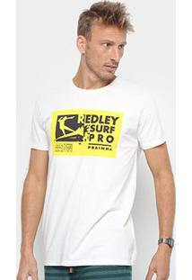 Camiseta Redley Tinturada Silk Surfpro Masculina - Masculino-Off White