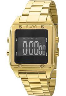 Relógio Euro Feminino Eug2510Aa - Feminino-Dourado
