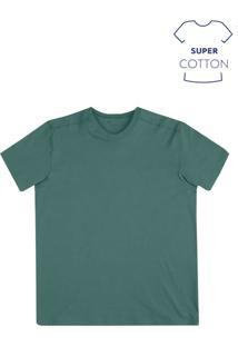 Camiseta Masculina Básica Super Cotton Na Modelagem Comfort