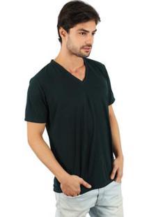 Camiseta Lat Gola V Masculina - Masculino
