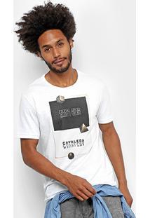 Camiseta Cavalera Foil Piramide Masculina - Masculino