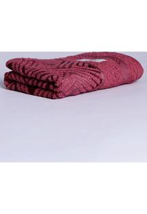 Toalha De Rosto Karsten Rosa Escuro
