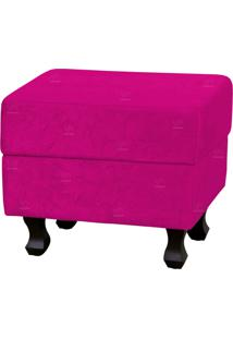 Puff Lyam Decor Londres Luis Xv 833 Suede Pink