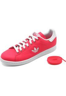 Tênis Couro Adidas Originals Stan Smith Rosa