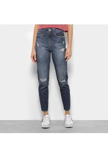 Calça Jeans Cigarrete Colcci Suki Cintura Alta Feminina - Feminino